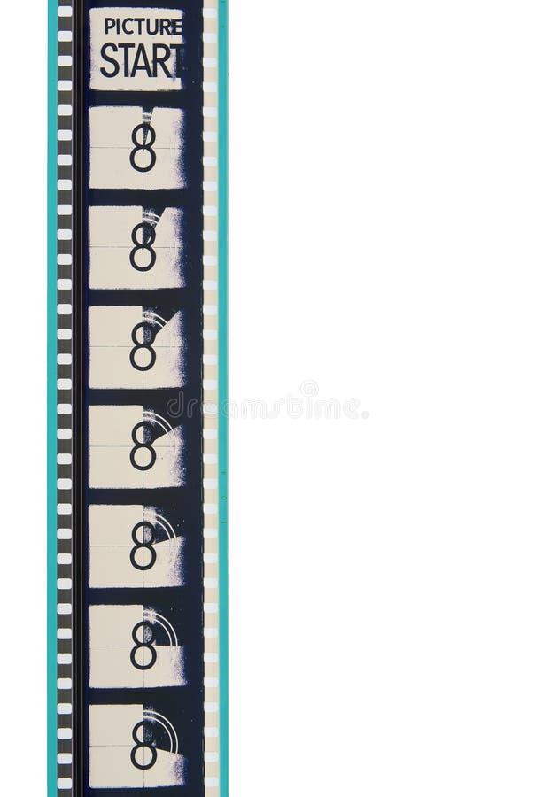 remsa för filmledarefilm royaltyfria bilder