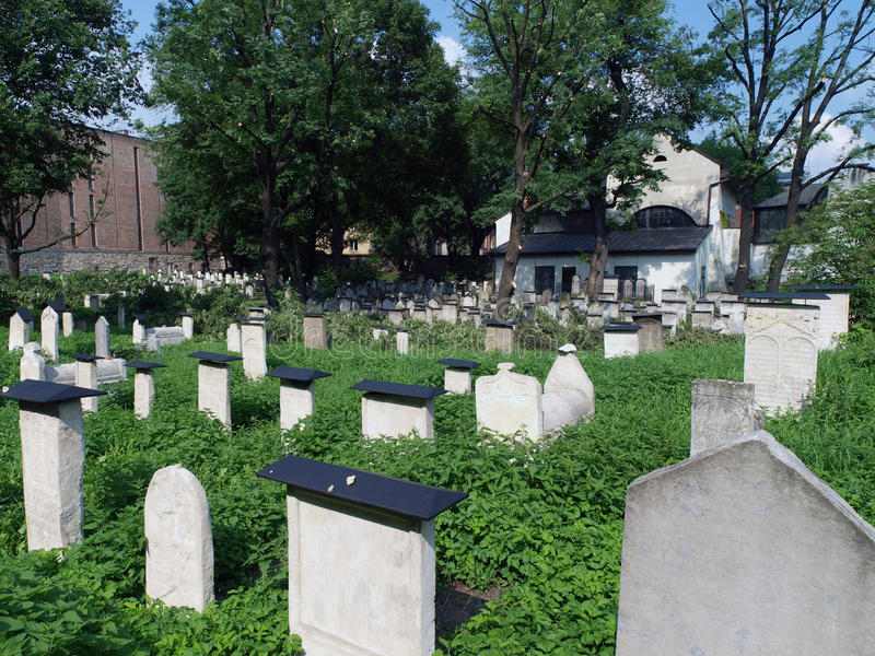 Download The Remuh  - Jewish Cemetery In Krakow, Stock Photo - Image: 15632112