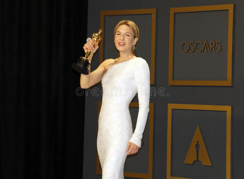 Renée Zellweger royalty free stock images