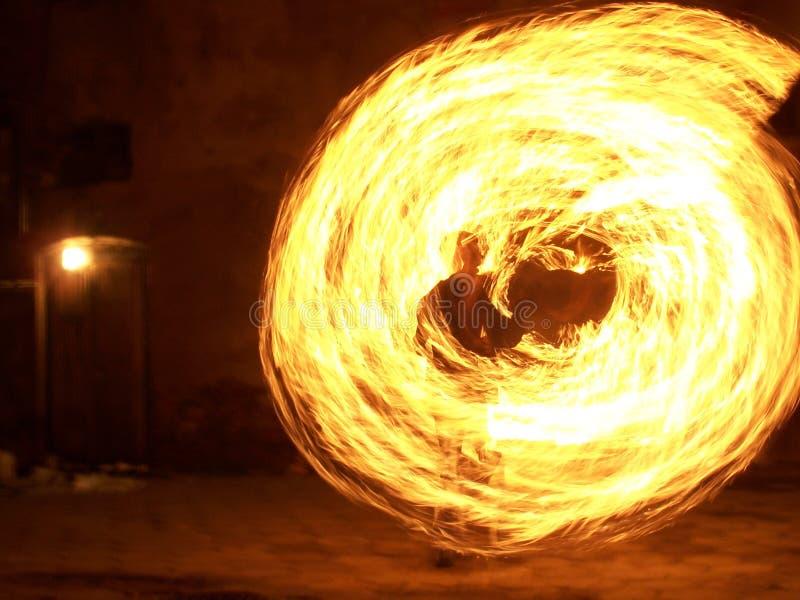 Ren brand arkivfoto