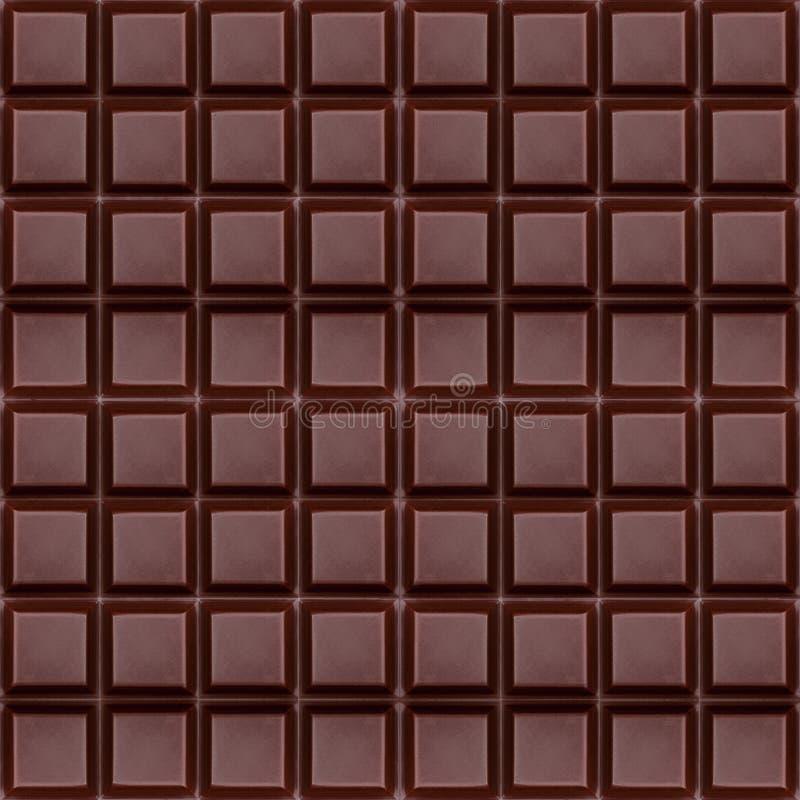 Ren mörk choklad, sömlös bakgrund royaltyfri bild