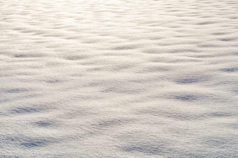 Ren snövit snöbakgrund royaltyfri foto