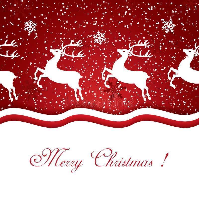 Download Rena do Natal ilustração do vetor. Ilustração de funcionar - 26507674
