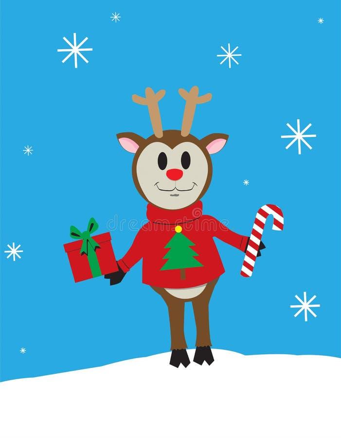Rena do Natal imagens de stock