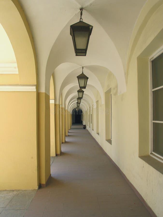 Download Renaissance arcade stock photo. Image of landmark, lithuania - 762316