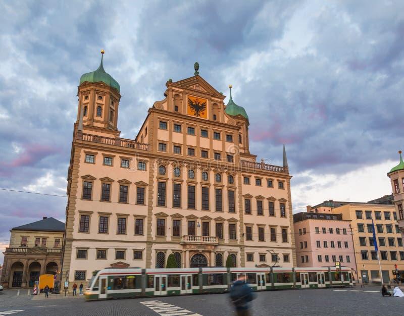 Renaissance Augsburg Rathaus Swabia Bayern Deutschland stockfotos