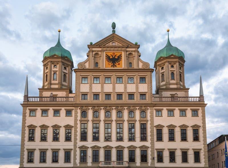 Renaissance Augsburg Stadthalle Fassade Swabia Bayern Deutschland lizenzfreie stockfotografie