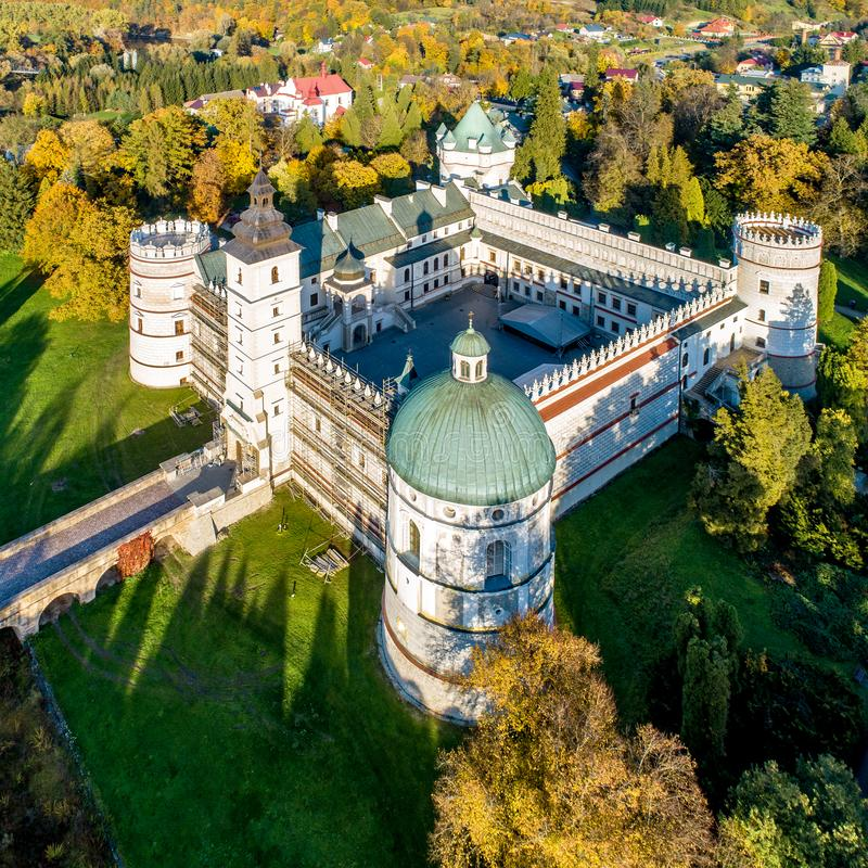 Free Renaissance Castle In Krasiczyn, Poland Royalty Free Stock Photos - 161605468