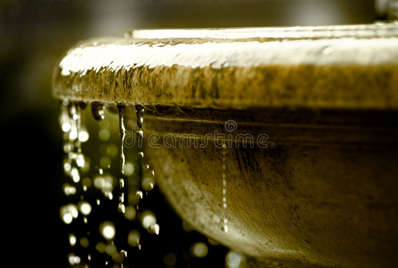 Renaissance fountain old royalty free stock images