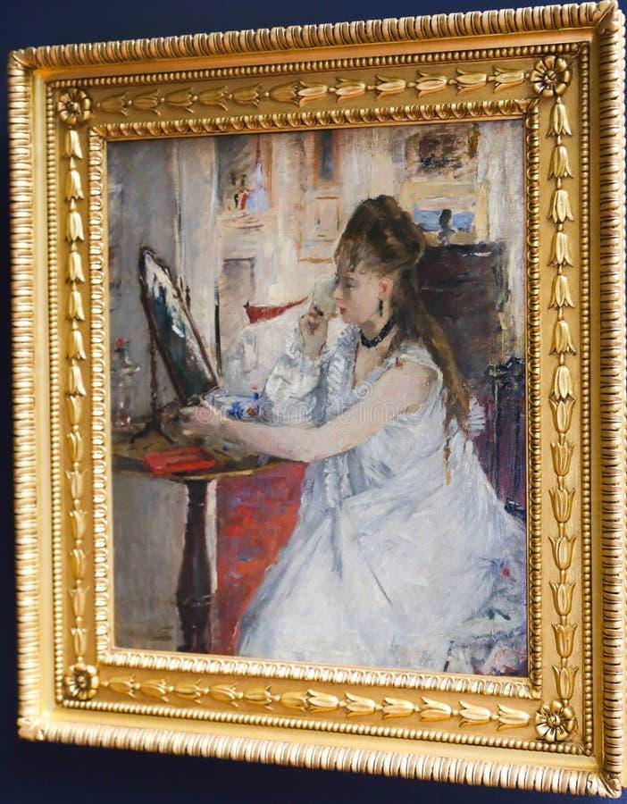 Renaissance het Schilderen bij Orsay-museum royalty-vrije stock fotografie