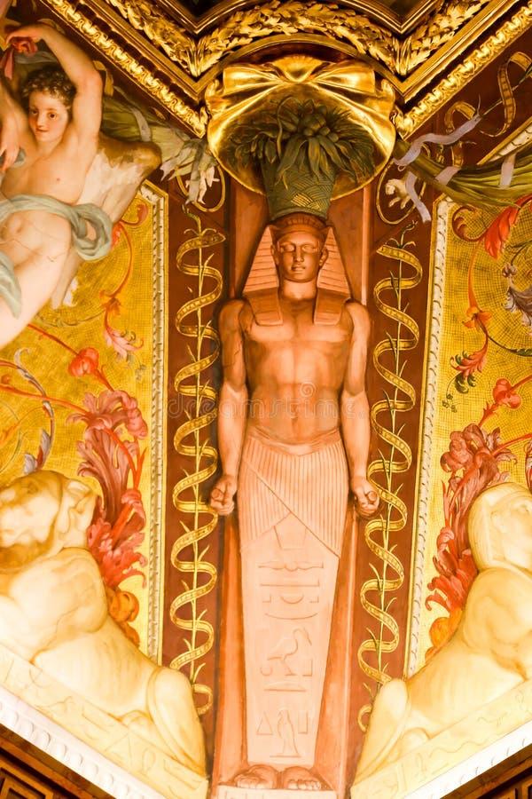 Renaissance-Malerei an Vatikan-Museum stockfoto