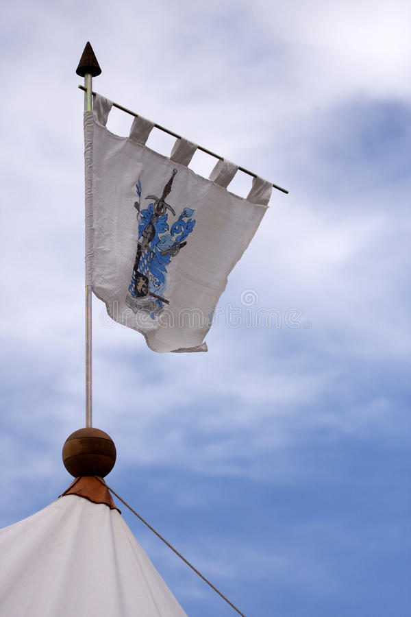 Download Renaissance Military Tents And Flags In The Camp Stock Image - Image: 12945873