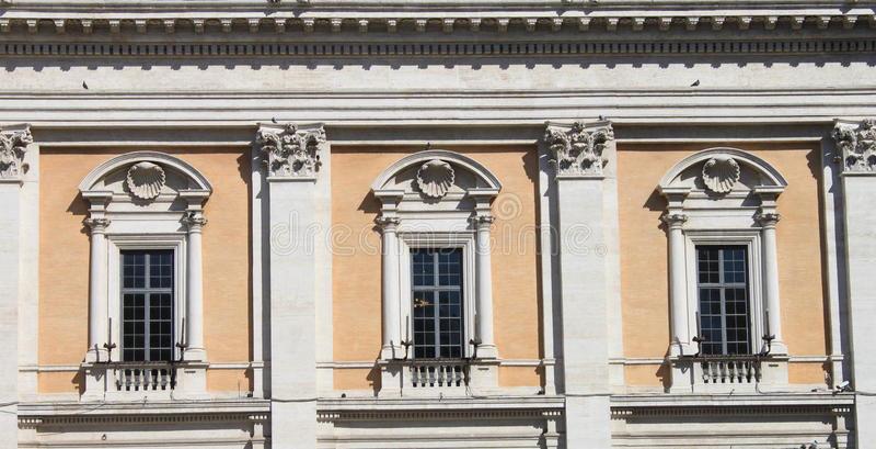 renaissance okno zdjęcie royalty free