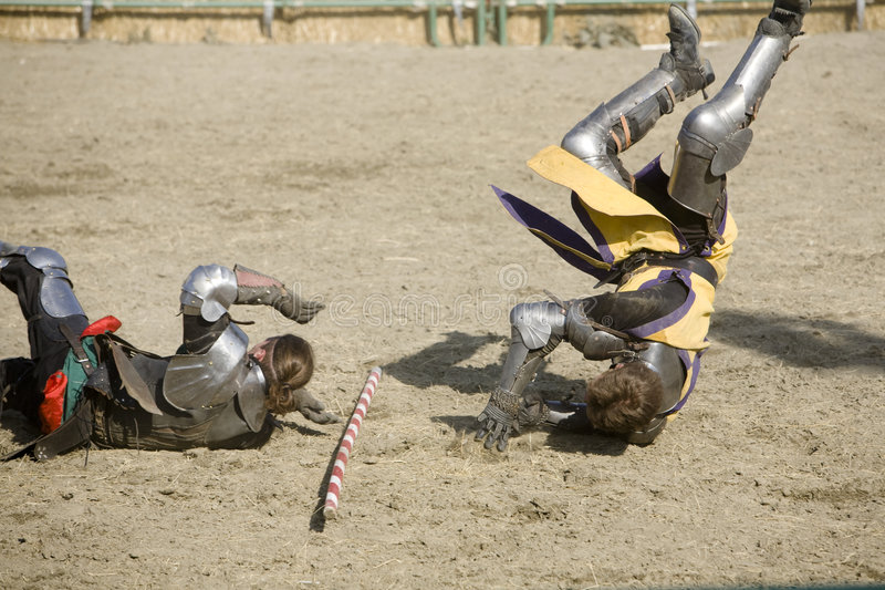 Download Renaissance Pleasure Faire - Knights Battle 8 Editorial Stock Photo - Image: 5087403