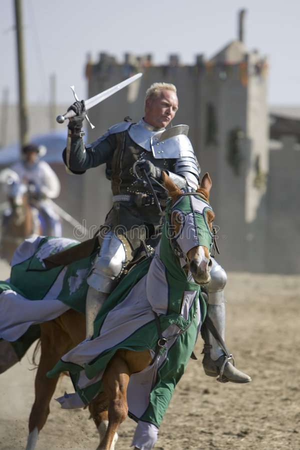 Renaissance Pleasure Faire - Sir William 1 royalty free stock images