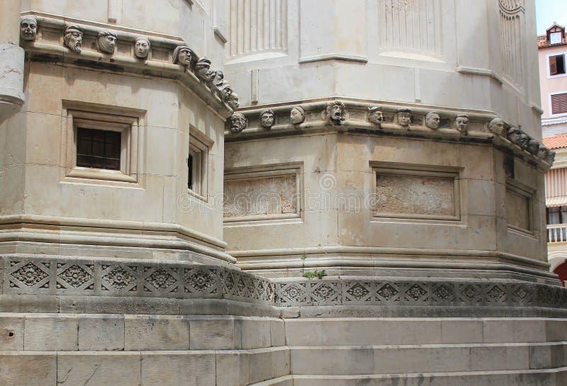Renaissance stone portraits - Sibenik Cathedral