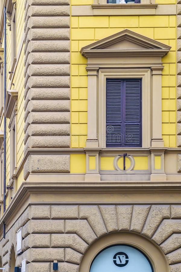 Renaissance Style Building Detail View royalty free stock images