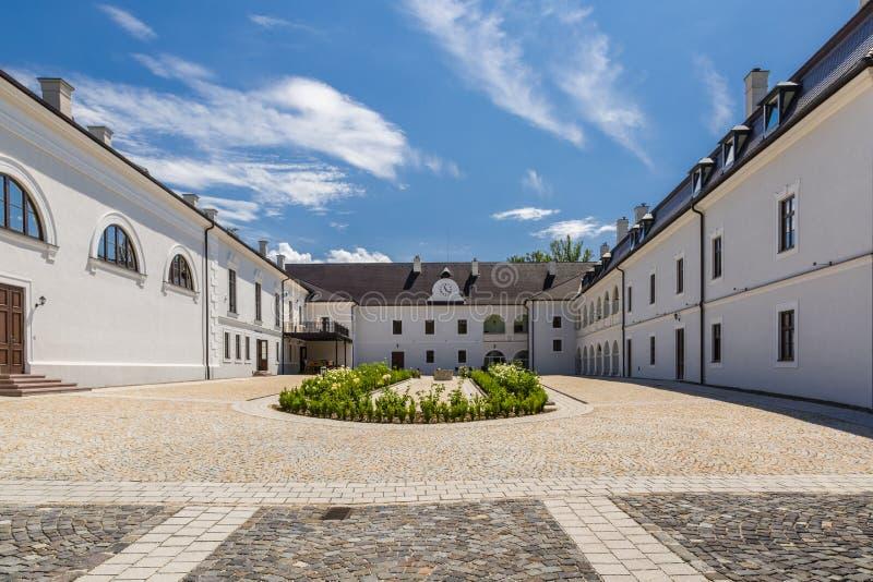 Renaissancekasteel Chateau Appony stock foto's