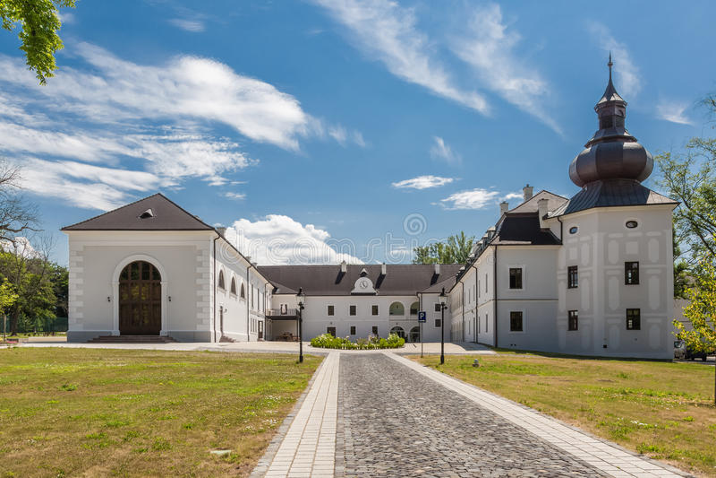 Renaissancekasteel Chateau Appony royalty-vrije stock fotografie