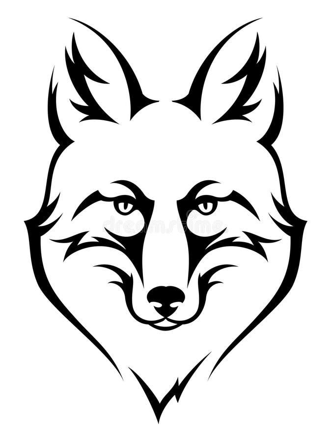renard illustration stock