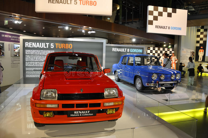 Renault 5 Turbo stockfotos