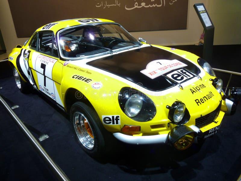 Renault Alpine stock images