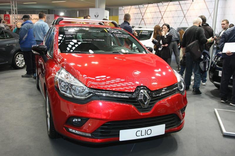 Renault an Belgrad-Car Show lizenzfreies stockbild