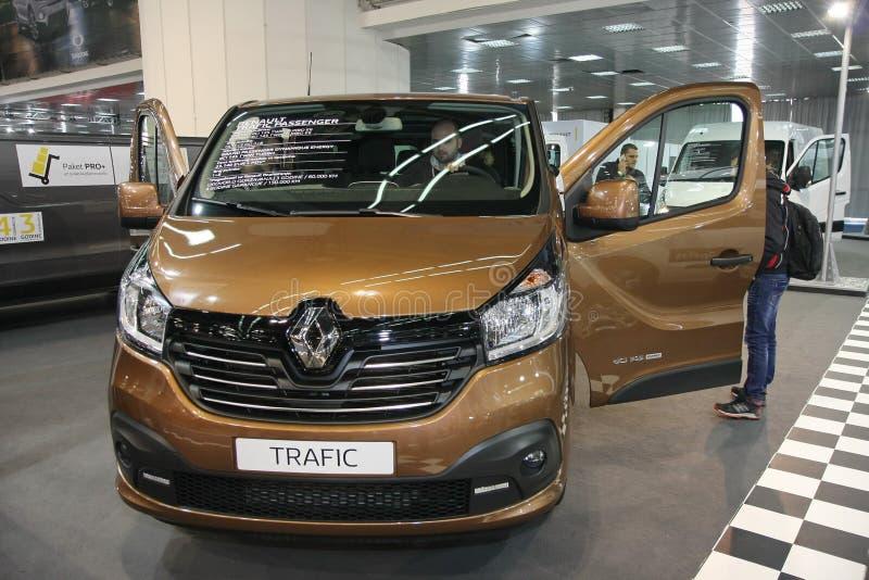 Renault an Belgrad-Car Show lizenzfreie stockfotos