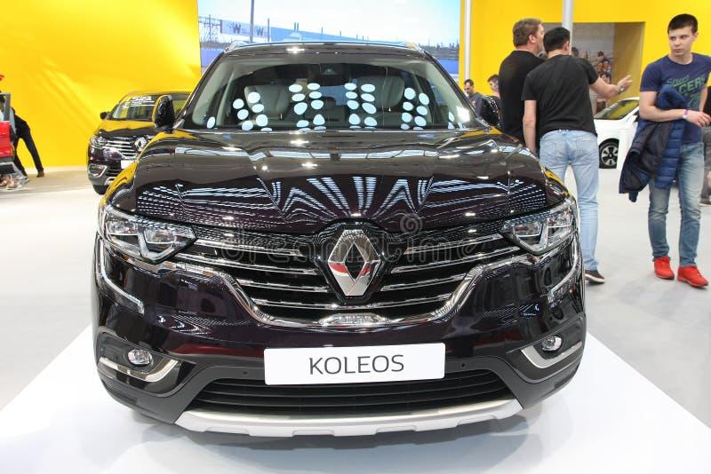 Renault an Belgrad-Car Show stockbilder