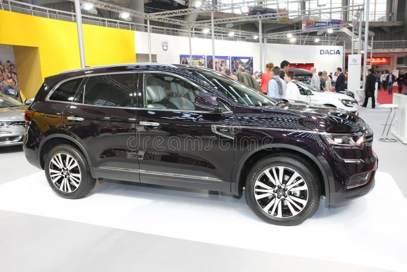 Renault an Belgrad-Car Show lizenzfreie stockfotografie