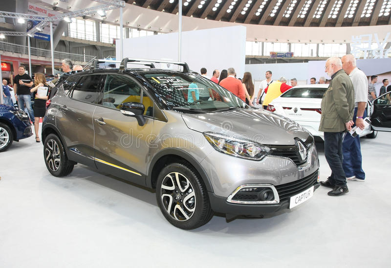 Renault an Belgrad-Car Show stockbild
