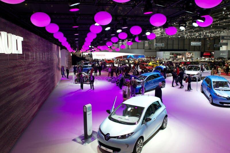 Renault bij de motorshow 2013 van Genève royalty-vrije stock fotografie