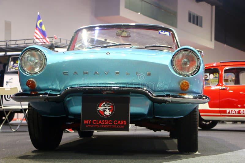 Renault Caravelle автомобиль спорт изготовленный и выведенный вышед на рынок на рынок Renault Автомобиль был стоковое фото