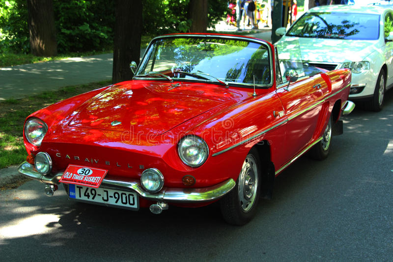 Renault Caravelle - voiture classique images libres de droits