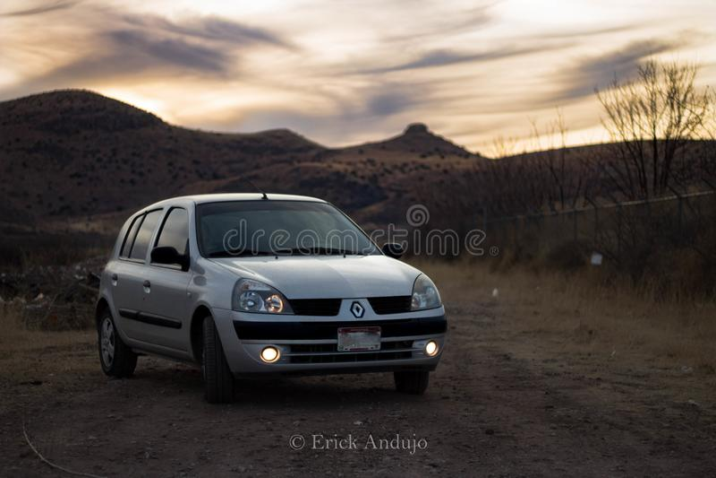 Renault Clio 2006 stock photos