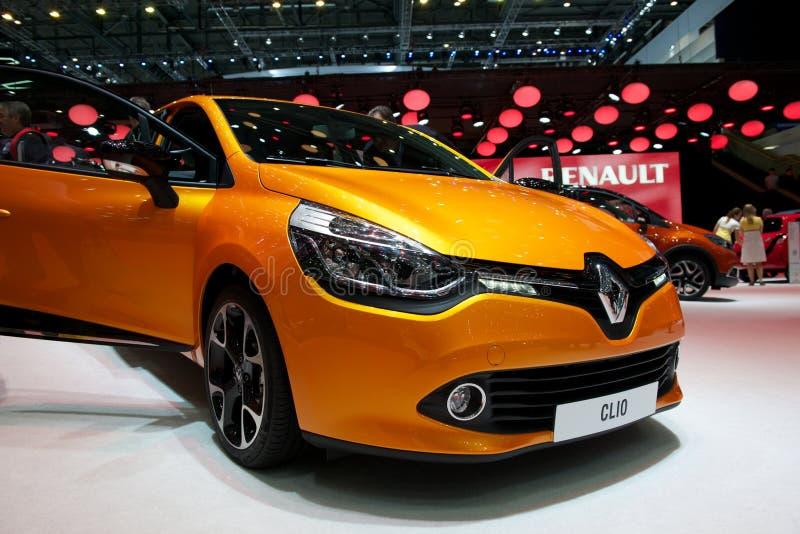 Renault Clio 2014 zdjęcia royalty free