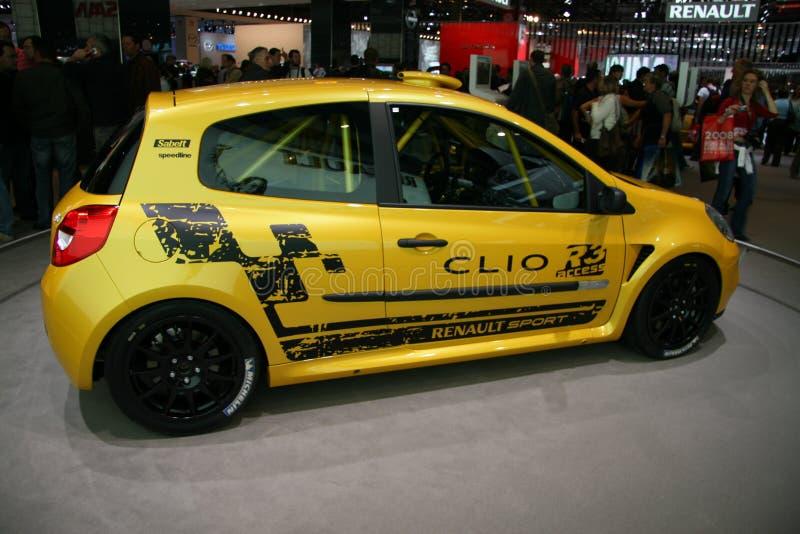 RENAULT CLIO R3 fotografia stock libera da diritti