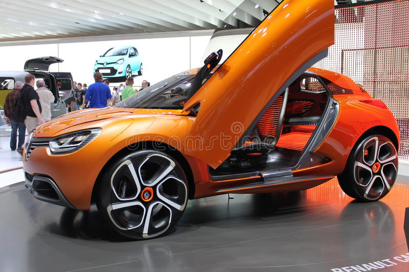 Download Renault concept car editorial stock photo. Image of design - 22415118