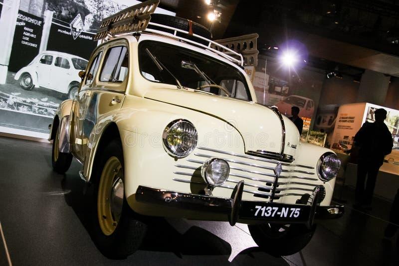 Renault 4CV fotografia stock