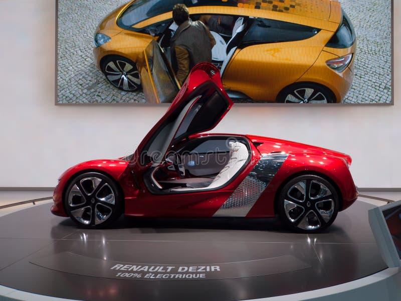 Renault Dezir immagini stock