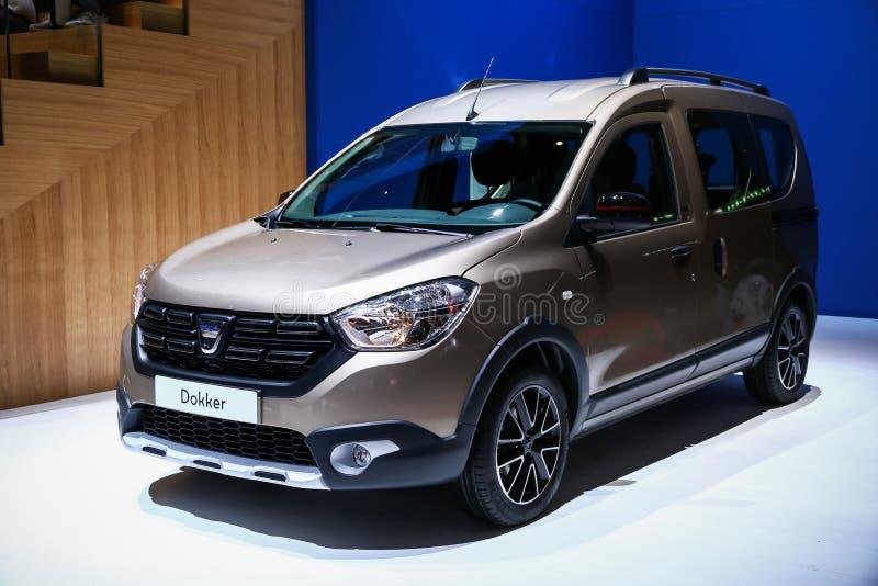 Renault Dokker royalty-vrije stock foto's