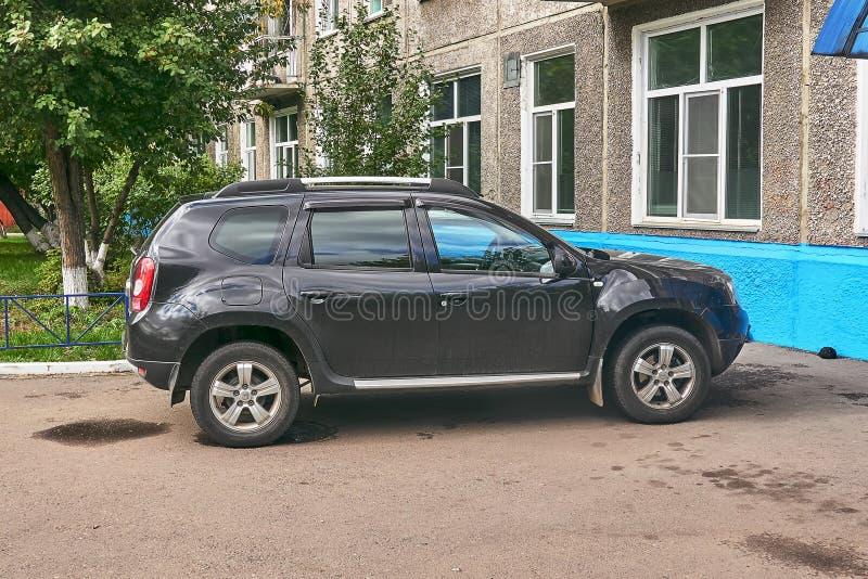 Renault Duster dobra widok zdjęcia royalty free