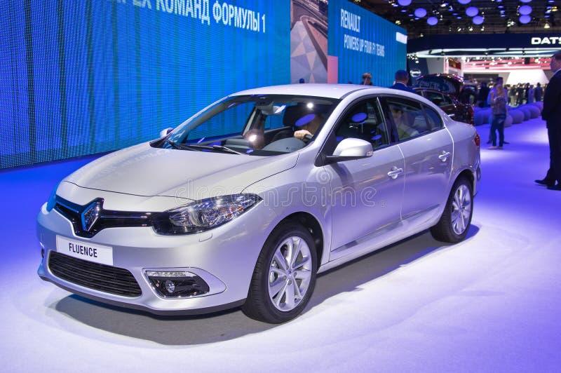 Renault Fluence fotografia stock