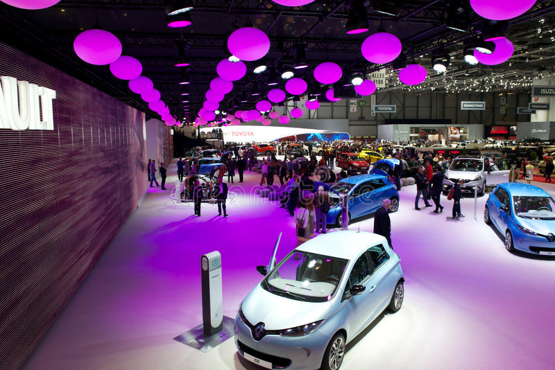 Download Renault At Geneva Motor Show 2013 Editorial Photography - Image of expo, palexpo: 29706337