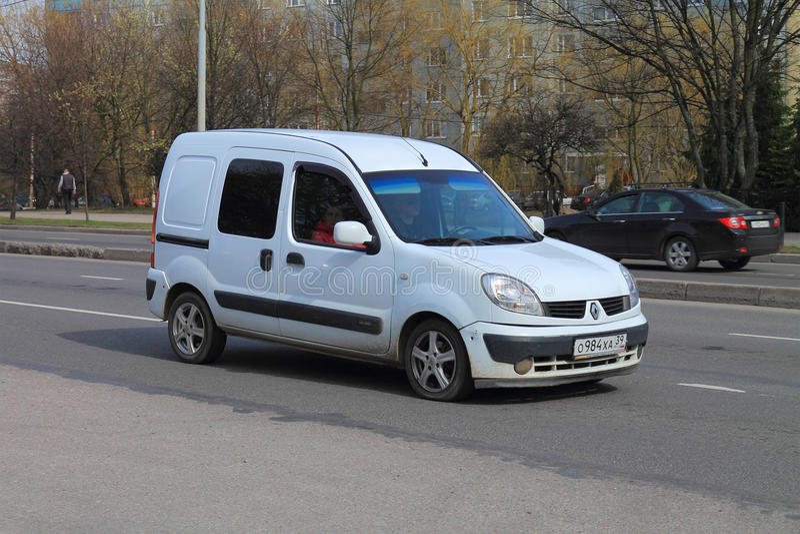 Renault Kangoo stock afbeelding