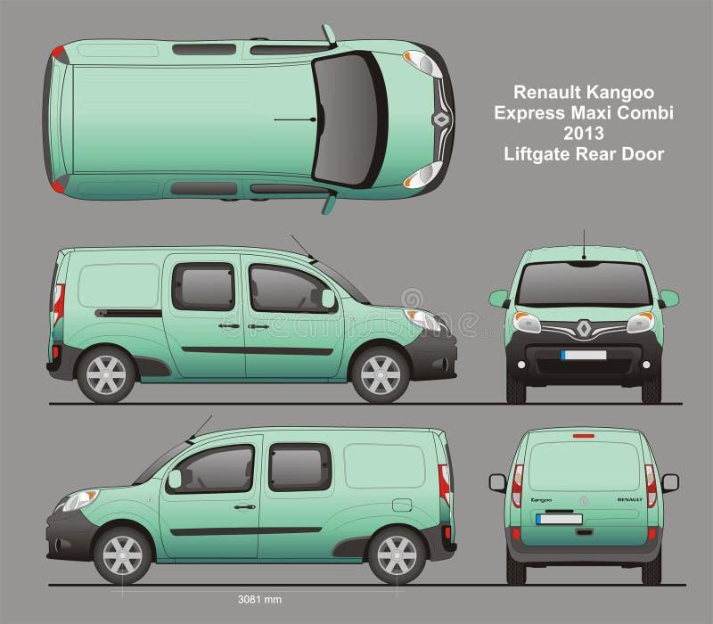 Renault kangoo express maxi combi van 2013 blueprint editorial photo download renault kangoo express maxi combi van 2013 blueprint editorial photo illustration of design malvernweather Images
