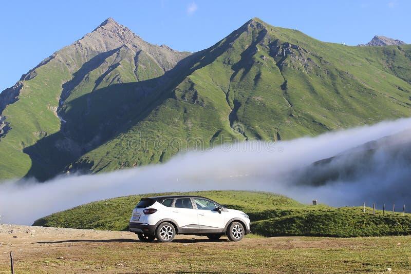 Renault Kaptur White stock afbeeldingen