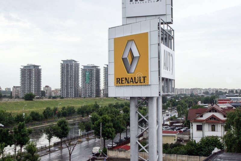 Renault logo fotografering för bildbyråer