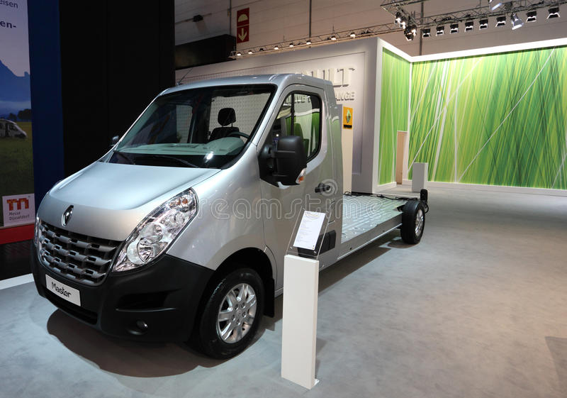 Download Renault Master chassis editorial photo. Image of fair - 26452711