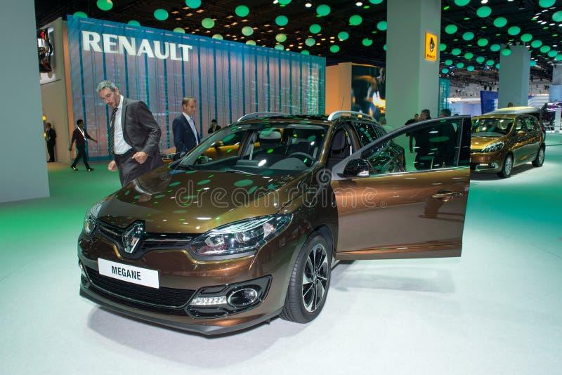 Renault Megane stockbild